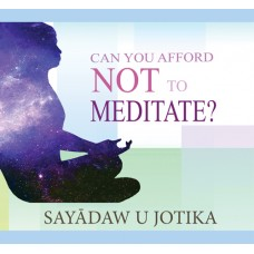 CAN YOU AFFORD NOT TO MEDITATE